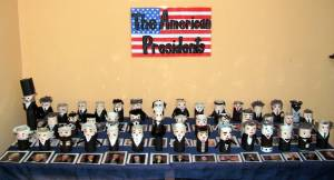 TP Roll Presidents on display!