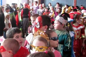 Lots and lots of costumed little ones