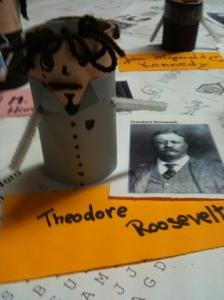 "Theodore Roosevelt (pronounced ""Tay-O-dorrr"")"