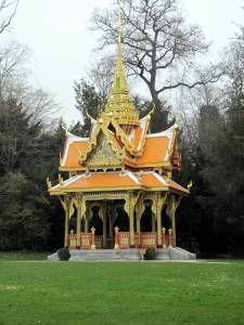 Thai Pagoda in the Olympic Park