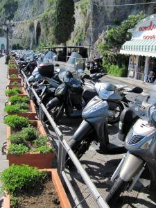Vespas as far as the eye can see